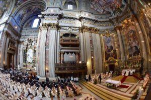 Canonização de São José de Anchieta. Foto: Giuseppe Cacace/AFP)